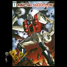 MICRONAUTS #1 Retailer Incentive 1:50 VARIANT Butch Guice IDW NM!