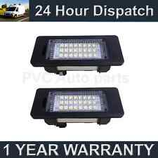 2X FOR BMW 3 SERIES E46 E90 E91 E92 E93 M3 24 WHITE LED NUMBER PLATE LIGHT LAMPS