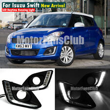New LED Daytime Running Light Fog Lamp DRL For Suzuki Swift 2014 2015