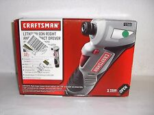 New Craftsman Nextec 12v Right Angle Impact Driver w/ Battery & Charger 17562