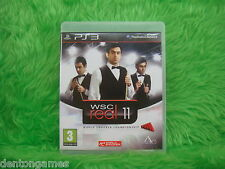 ps3 WSC Real 11 World Snooker Championship Game Playstation PAL