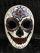 Day of the Dead Dias De Muerto Mask women's Mask Halloween Party Mask`