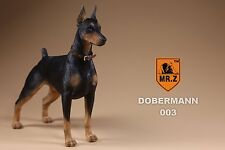 Dobermann Mr.Z DB003 Resin Animal Series 1/6 Scale Dog IOCA