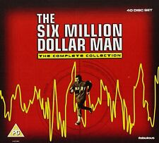 Six 6 Million Dollar Man TV Series Collection [40 Discs] Box Set Brand NEW DVD