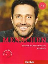Hueber MENSCHEN A2 Deutsch als Fremdsprache KURSBUCH mit Lerner DVD-ROM @New@