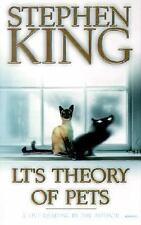 STEPHEN KING Lt's Theory of Pets AUDIO BOOK cassette tape LIVE read by author