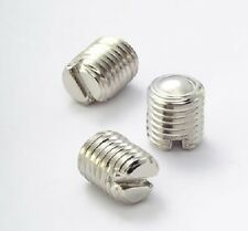 M3x3 8 Replacement SS Slotted Grub Screws for Tsunami RDA by Geek V.