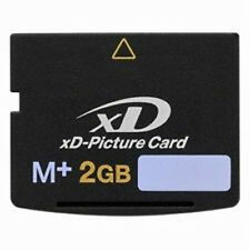 2GB XD M+ MEMORY CARD (new) COMPATABLE WITH OLYMPUS  &   FINEPIX CAMERA'S