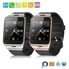 "Aplus GV18 Bluetooth Smart Wrist Watch Phone Mate 1.55"" GSM NFC Camera SIM Card"
