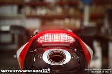 2013-2016 Honda CBR600RR CBR 600RR SEQUENTIAL Signal LED Tail Light Clear
