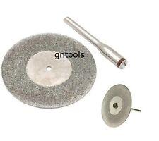 """2"""" 50mm Diamond Cut Off Cutting Disc Blade Fits Most Rotary Tool & Mini Drills"""