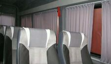 Mercedes Sprinter VW LT curtains set for 2 side windows black color.