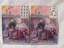 Priscilla Hauser Painted Impressions Rub-on Transfer Grapes on Vines - Set of 2