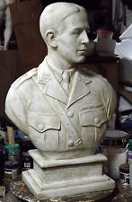 Custom made sculptures busts portraits statues wallplaques stage props & restore