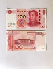 2015 CHINA 100 YUAN MAO HALL OF THE PEOPLE CHINESE CURRENCY MONEY NOTE