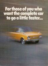 Skoda S110 LS Saloon 1972-73 UK Market Foldout Sales Brochure