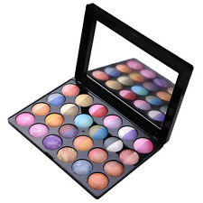 New 6 Mixed Colors+18 Duotone Colors Pearl Pigment Baked Eyeshadow Blush Palette