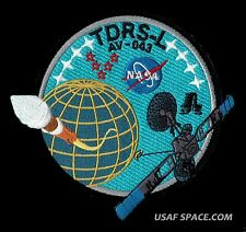 TDRS-L ATLAS V LAUNCH NASA TRACKING & DATA SATELLITE USAF CCAFS SPACE PATCH