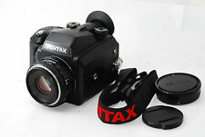 "Pentax 645NII Medium Format SLR Camera Pentax FA 75mm f2.8 ""Excellent"" #0876"