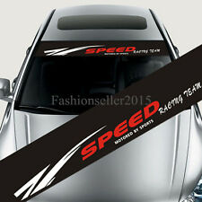 Reflective Car Styling SPEED Front Windshield Banner Decal Vinyl Car Stickers
