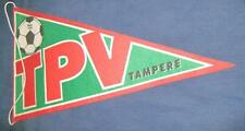 TPV TAMPERE FOOTBALL CLUB FINLAND OFFICIAL BIG PENNANT OLD SIZE 35X20CM