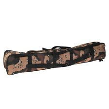 Outdoor Fishing Rod Case Bag Travel Organizer Tackle Tools Storage Three-Layer