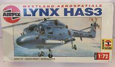 Airfix Lynx HAS3 Westland Aerospatiale  #03054 Scale 1:72   New in Box