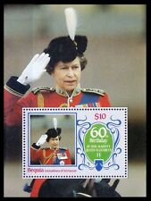 Queen Elizabeth 60th Birthday, Bequia Grenadines of St Vin. MNH SS