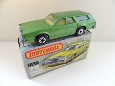 Matchbox Superfast 74c Cougar Villager - Green - Mint/Boxed