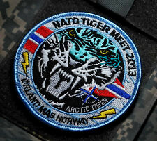 NTM NATO TIGER MEET VeIcrô INSIGNIA PATCH: NTM Ørland MAS Norway 17-28/06/2013