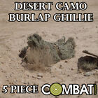 DESERT SAND CAM CAMO GHILLIE YOWIE SNIPER TACTICAL CAMOUFLAGE SUIT 4 HUNTING NEW