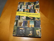 Columbia Record Catalog 1947 Paperback 575 Pages Pre-LP All Types Of 78s GOOD