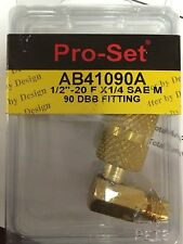 R410A CPS LOW LOSS FITTING ELBOW PART #AB41090A ANTI-BLOW BACK