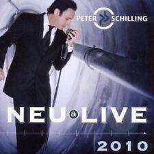 """PETER SCHILLING """"NEU & LIVE"""" CD NEU"""