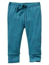 NWT BABY GAP BOY'S TILE SQUIRREL PRINT BANDED PANTS 100% COTTON (UP TO 7 LBS)