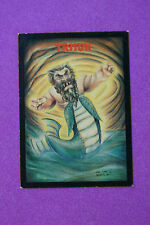 20' Tall Merman TRITON ~ 1991 #10 Monster in My Pocket Collectible TRADING CARD