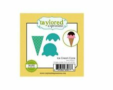 Taylored Expressions Little Bits Die(s) Set ~ ICE CREAM CONE Sweet Treat  ~TE372