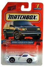 1998 Matchbox #01 Stars and Stripes Dodge Viper GTS Coupe