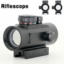 2016 Tactical Laser 1X30 Red / Green Dot Sight Illuminated 5 MOA Reticle Scope