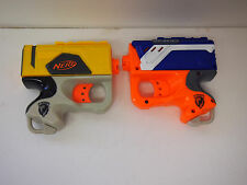 Nerf N-Strike Reflex Single Shot Holdout Pistol Soft Dart Gun lot no darts