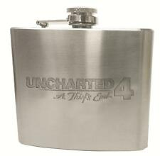 MSRNY PS4 Uncharted 4 A Thief's End limited FLASK (No Game) Extremely Rare !!!