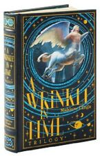 A Wrinkle In Time by Madeleine L'Engle Leather Bound Set Quintet Hardcover Lot