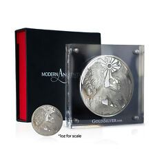 2015 Modern Ancients Series | Lion & Bull | 10 oz Silver Proof USA Round Coin