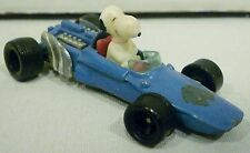Aviva Peanuts Snoopy Diecast Blue Race Car