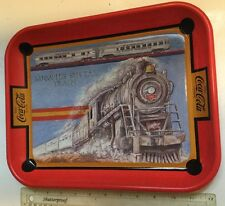 Coca Cola Limited Edition Memphis Special Train Collectible Metal Coke Tray
