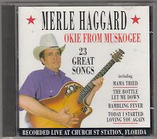 MERLE HAGGARD - okie from muskogee CD