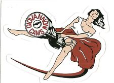 GIOVANNONI CAMS DRAG RACING Sticker Decal