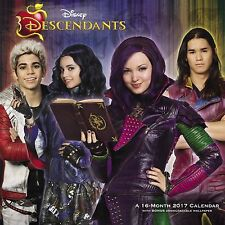 DESCENDANTS - 2017 WALL CALENDAR - BRAND NEW - DISNEY TV DDW070