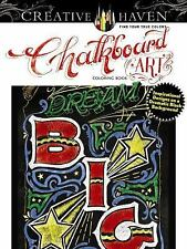 Adult Coloring: Chalkboard Art: Inspirational Designs Coloring Book