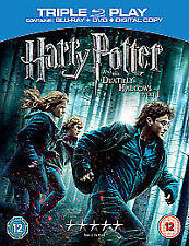 Harry Potter And The Deathly Hallows Part 1 (Blu-ray and DVD Combo, 2011,...
